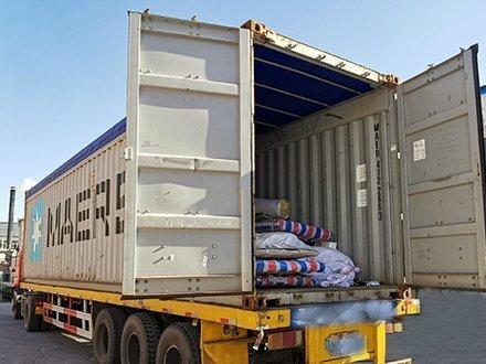 津双达客户出口南非的彩钢板