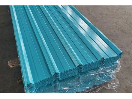 【山东】日照钢铁如何选购一万多米天酞蓝820型彩钢瓦