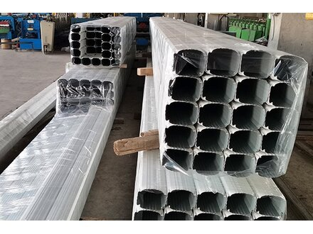 【吉林】订购彩钢雨水管 刘总选了津双达
