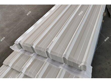 网购820型压型彩钢板到实体工厂津双达