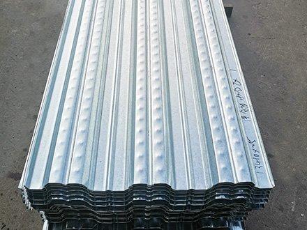 阿里巴巴考拉海购华北智慧物流中心采用津双达720型楼承板